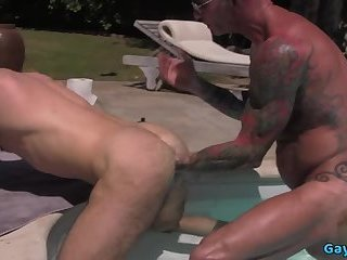 Fisting,Outdoors,Rimming,wolf,gay Tattoo wolf...