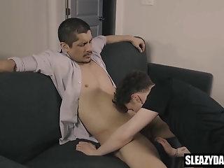 Daddy fucks twink...
