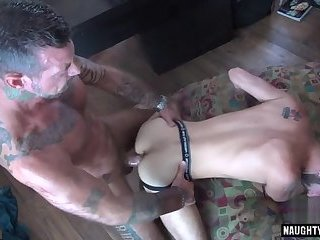 Anal,bear,anal sex,gay Brunette bear...