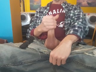 big;cock;cock;dick;uncut;cock;uncut;dick;big;dick;foreskin;wank;jerk;off;edging;masturbation;foreskin;play;uncut;jeans;kitchen;table,Solo Male;Big Dick;Gay;Amateur;Handjob;Uncut Morning edging on...