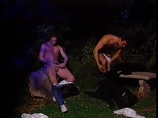 Big Cocks (Gay);Daddies (Gay);Gay Porn (Gay);Muscle (Gay);Outdoor (Gay) Fucked By...