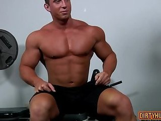 Muscle gay oral...