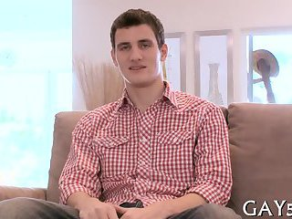 gay Handsome guy and...