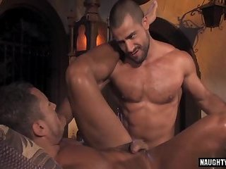Anal,Hunks,Threesome,gay,group sex,muscle Arab gay...