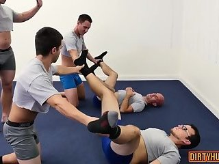 Domination,Office,gay,facial,muscle Muscle gay oral...