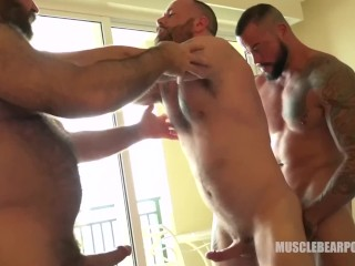 musclebearporn;big;cock;bareback,Pornstar;Gay;Amateur,Sean Duran Fuckin' Own It