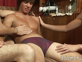 Two eager twink...