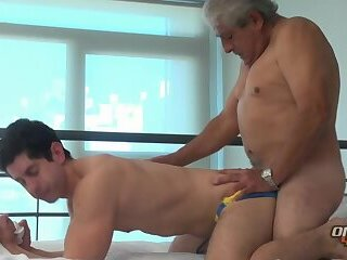 Anal,Amateur,Mature,gay Grampa is Ready