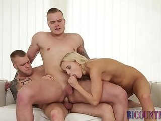 Anal,Bisexual,Threesome,Blowjob,gay Bisex hunk...