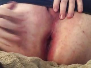 Man (Gay) Gaping my ass...