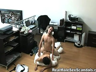 gay Crazy drilling on...