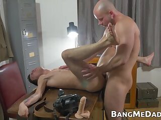 Cumshot,Big Cock,Dildo,Mature,Uniform,Blowjob,Bareback,daddy,twink,sex toy,young,Skinny,army,bangmedaddy,old and young,gay Mature sergeant...
