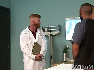 Cumshot,Masturbation,Bears,Threesome,gay Bear spermed in...