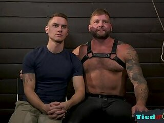 Bondage,Domination,Fetish,gay,muscle,hung Canned submissive...