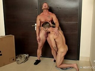 Anal,Amateur,Hunks,Tattoo,Blowjob,gay Taking Delivery...