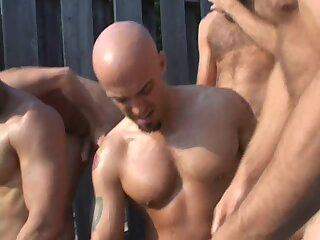 Anal,Cumshot,Big Cock,Outdoors,Party,Pissing,Blowjob,Bareback,group sex,gay Meat Packing