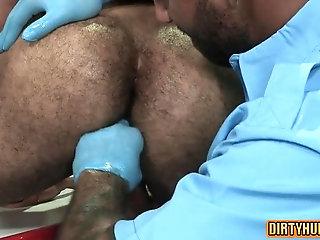 Anal,bear,muscle,gay Muscle bear flip...