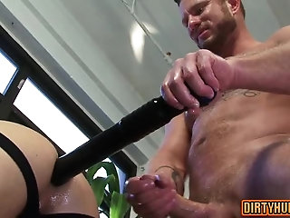 gay,rimjob,muscle Muscle gay dildo...