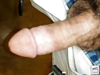 Stroking my cock...