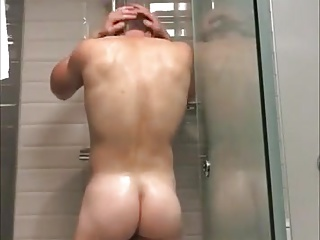 Men (Gay);Amateur (Gay);Hunks (Gay);Take a Shower;Shower Time;Hot Shower;Hot Time;Man Shower time - hot...