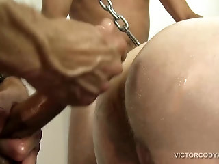 Anal,Threesome,Bareback,group sex,ass rimming,big dicks,cock sucking,breeding,gay Sling Fucking Raw...