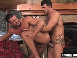 Anal,Hunks,gay,ass,doggystyle,muscled Tattoo gay anal...