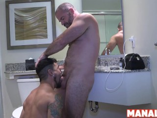 manalized;big-cock;hardcore;bareback;raw;raw-sex;creampie;blowjob;riding;hunk;big-ass;big-dick;jockstrap;hairy;tattoo,Bareback;Daddy;Blowjob;Big Dick;Pornstar;Gay;Hunks;Creampie;Amateur;Rough Sex,Bishop Angus;cory koons MANALIZED Daddy...