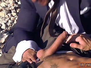 Hunks,Outdoors,Blowjob,gay,muscle Muscle gay anal...