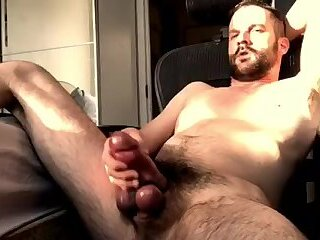 Amateur,Masturbation,Solo,stud,hairy,hung,dilf,huge,handsome,monstercock,girth,girthy,gay Handsome DILF...