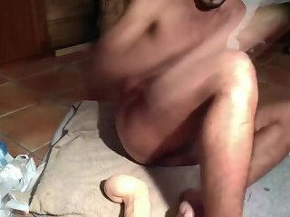 Solo,Dildo,gay Lil Cub and his...