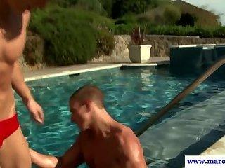 Anal,Cumshot,Body Builders,Outdoors,Blowjob,studs,muscled,gay,Marcus Mojo Masturbating...