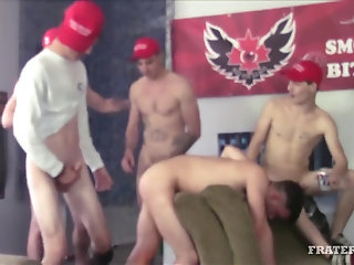 orgy,group,handsome,gay Stud Orgy 18