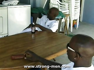 gay Horny Ebony Trio...