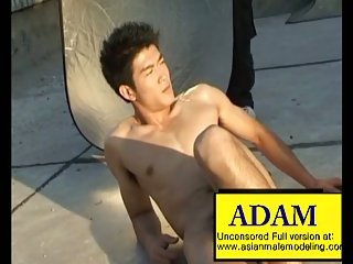 gay Asian Male Model...
