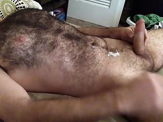 Gay Porn (Gay);Masturbation (Gay) Hairy Wank and Cum