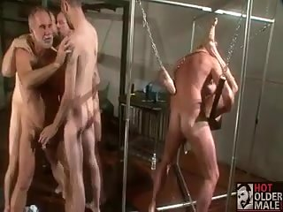 gay Bdsm fucking orgy