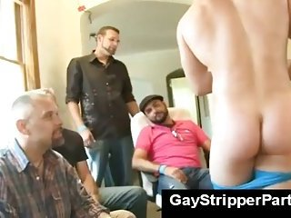 gay Gay stripper...