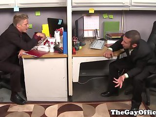 gay Gay office hunks...