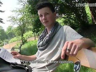 gay Cute Boy Pleasing...