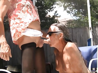 Amateur (Gay);Blowjobs (Gay);Crossdressers (Gay);HD Gays Jamie Blows Jenny...