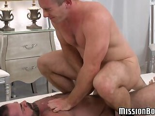 Cumshot,Big Cock,Rimming,Blowjob,Bareback,hardcore,big dick,muscle,hairy,daddy,mormon, anal play,hardcore gay,MissionBoys,gay Young Mormon lets...