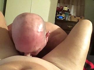 Pov,Blowjob,cum,deepthroat,daddy,bald,gay Watch me as i...