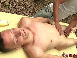 Gay masseur...