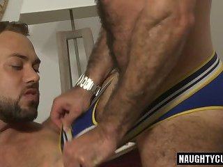 Anal,Cumshot,Rimming,gay,ass,bear,facial,fuck,latin Latin bear dap...