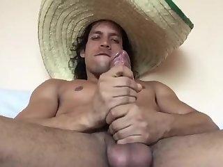 Amateur,Masturbation,Solo,Big Cock,Latinos,gay Welcome to Mexico!