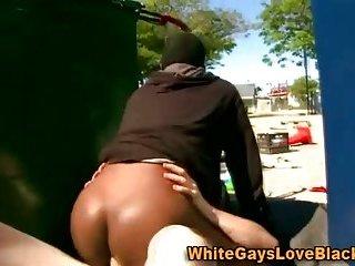 gay Black thug fucked...