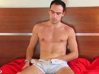 gay Hunk cock jerked off