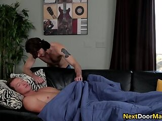 Anal,Big Cock,Hunks,Blowjob,jocks,gay,sleeping,sex,gay sex,big dick,taboo, Sleep,brother,step brother,family Gay brother blows...