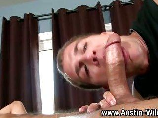 gay Austin Wilde gets...