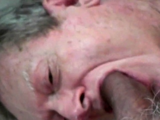 Grampa sucking